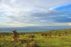 Пейзаж Танзании, Африка стоковое изображение rf