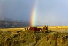Пейзаж Тибета Али Стоковые Фотографии RF