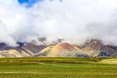 Пейзаж Тибета Али Стоковые Изображения RF