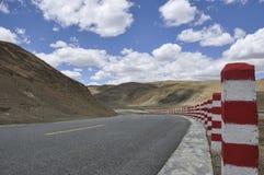 Пейзаж Тибета естественный Стоковое Изображение RF