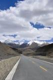 Пейзаж Тибета естественный Стоковая Фотография