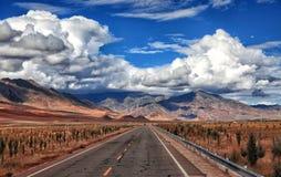 Пейзаж Тибета Стоковое Изображение
