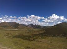 Пейзаж Тибета Стоковое фото RF