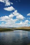 пейзаж Тибет Стоковые Изображения RF