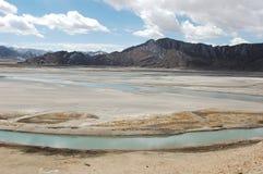 пейзаж Тибет Стоковые Изображения