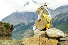пейзаж Тибет Стоковая Фотография RF