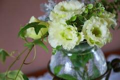 Пейзаж украшения цветка в комнате Стоковые Фото