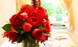 Пейзаж украшения цветка в комнате Стоковое фото RF