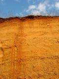 пейзаж холма глины Стоковые Фотографии RF