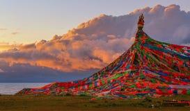 Пейзаж Цинхая Стоковое фото RF