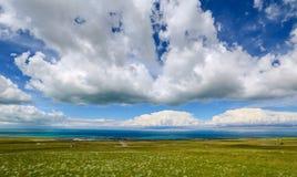 Пейзаж Цинхая Стоковые Изображения RF