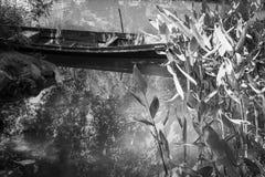Пейзаж шлюпки Стоковое Изображение RF