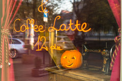 Пейзаж для праздновать хеллоуин в Кракове Стоковые Изображения RF