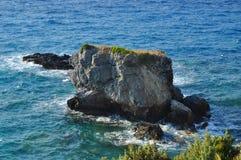 Пейзаж Beautiuful Эгейского моря Стоковые Изображения