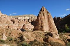 Пейзаж Cappadocia, Турция Стоковая Фотография