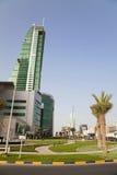 пейзаж manama города Бахрейна Стоковое Изображение RF
