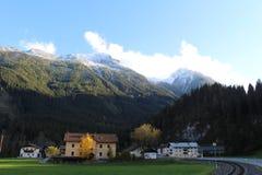 Пейзаж Pinzgau Стоковые Фото