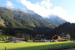 Пейзаж Pinzgau Стоковое Фото