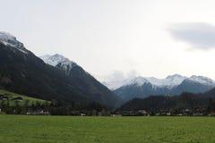 Пейзаж Pinzgau Стоковое Изображение