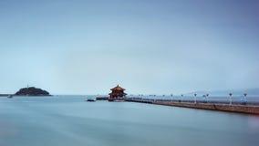 Пейзаж Qingdao в Китае стоковые фотографии rf