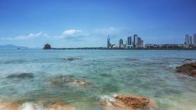 Пейзаж Qingdao в Китае Стоковое Изображение
