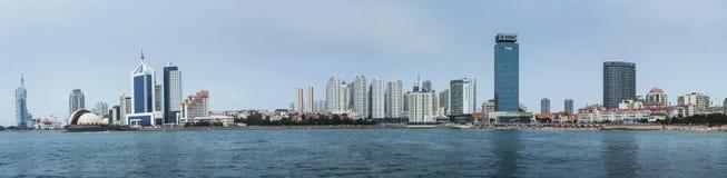 Пейзаж Qingdao в Китае Стоковые Фото