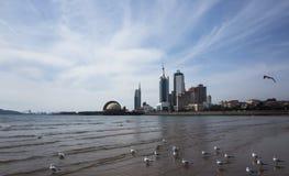 Пейзаж Qingdao стоковое изображение