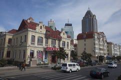 Пейзаж Qingdao стоковая фотография