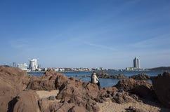 Пейзаж Qingdao стоковое изображение rf