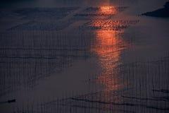Пейзаж Xiapu Стоковые Изображения