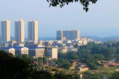 Пейзаж yongzhou, Хунани, фарфора стоковые фотографии rf