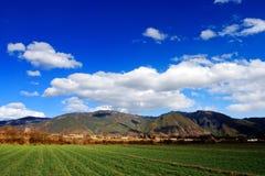 пейзаж yunnan стоковая фотография rf