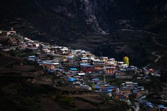 Пейзаж Zhagana в Gannan, ` s Ганьсу Китая Стоковая Фотография RF