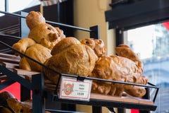 Пекарня Boudin, Сан-Франциско, Калифорния, причудливый животный форменный хлеб sourdough стоковое изображение rf