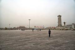 Пекин квадратный tiananmen фарфор Пекин Стоковая Фотография RF