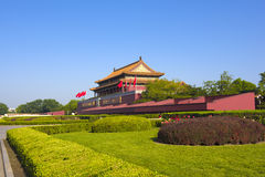Пекин квадратный tiananmen Стоковые Изображения RF