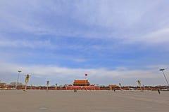 Пекин квадратный tiananmen Стоковая Фотография RF
