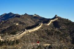 Пекин, Китай 18-ое ноября 2017: Великая Китайская Стена Китая, Badaling стоковое фото rf