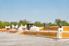 ПЕКИН, КИТАЙ - 18-ое октября 2015: Висок земли (Ditan) известная Стоковые Изображения RF