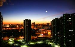 Пекин на 4 в утре Стоковая Фотография RF