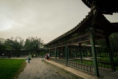 Пекин - парк в Temple of Heaven Стоковые Изображения