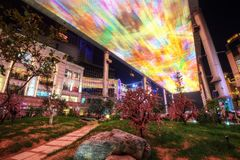 Пекин покупки места стоковое фото