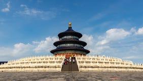 Пекин Temple of Heaven Hall молитвы стоковые фотографии rf