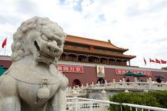 Пекин Tiananmen стоковые изображения