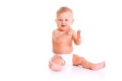 пеленка младенца Стоковое Изображение