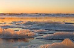 Пена моря Стоковая Фотография RF