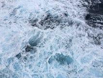 Пена на воде стоковое изображение