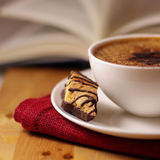 пена сливк кофе Стоковая Фотография RF