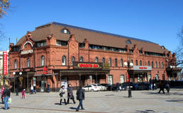 Пенза Торговый центр на улице Moskovskaya Стоковые Фото