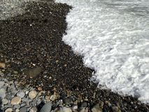 Пенистая пена моря Стоковая Фотография RF